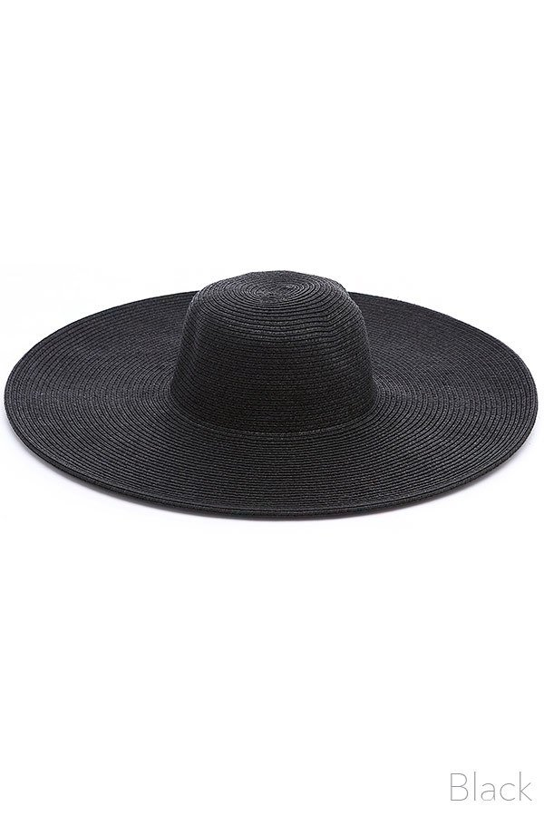 Floppy Hat - Black