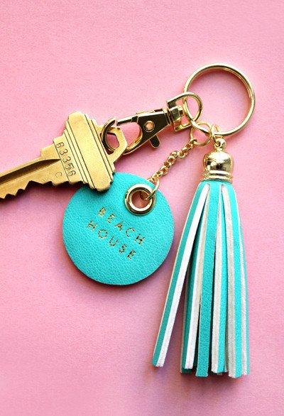 Faux Tassel Key Chain - Assorted
