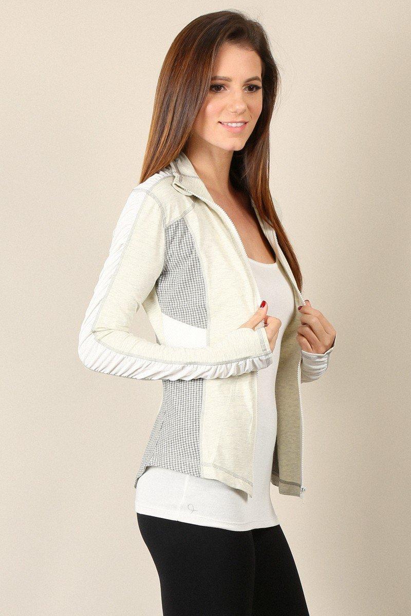 MYSTREE Active Wear Waste Length Jacket * WOMENS