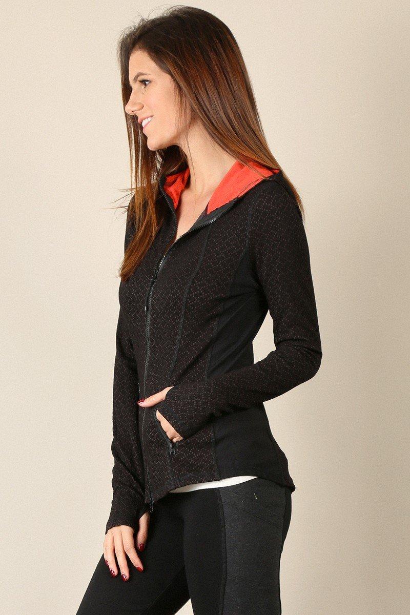 MYSTREE Active Wear - Yoga Hooded Jacket * Women's