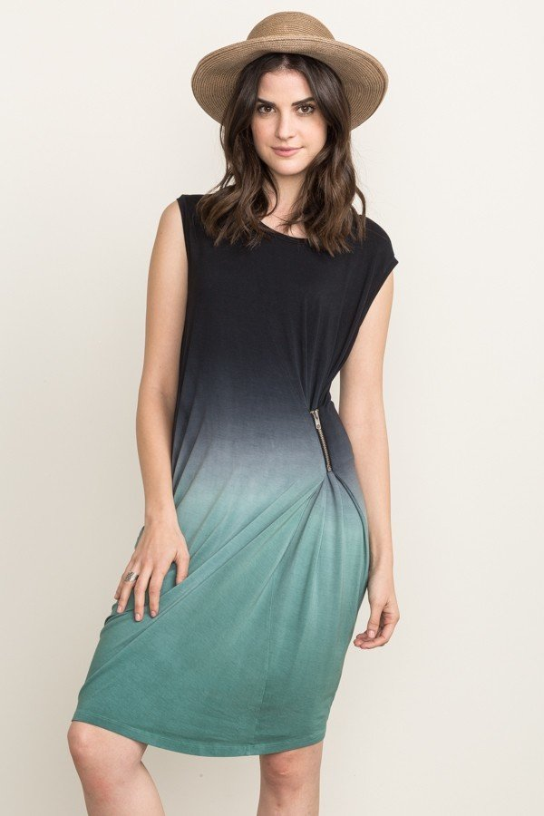 MYSTREE Dress - Jersey DipDye * Womens