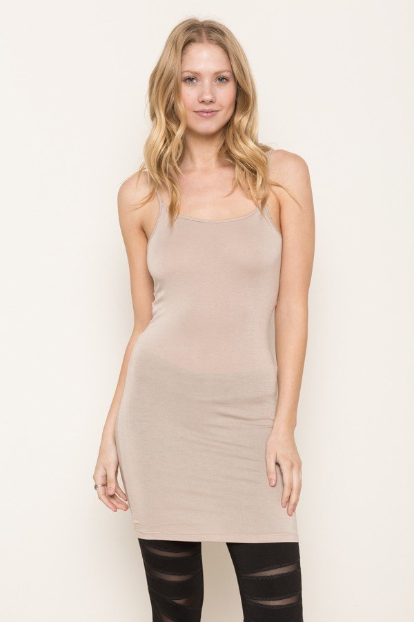 CAMI - Jersey Tunic TAUPE * WOMENS