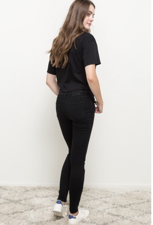 DENIM MYSTREE - Black Skinny Jeans