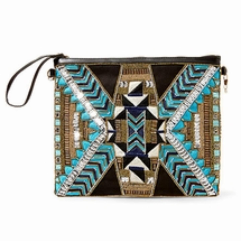 Kayleigh Turquoise Big Buddha Handbag