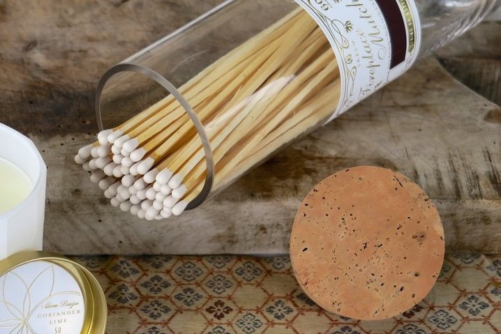 Fireplace Matches - Apothecary Style