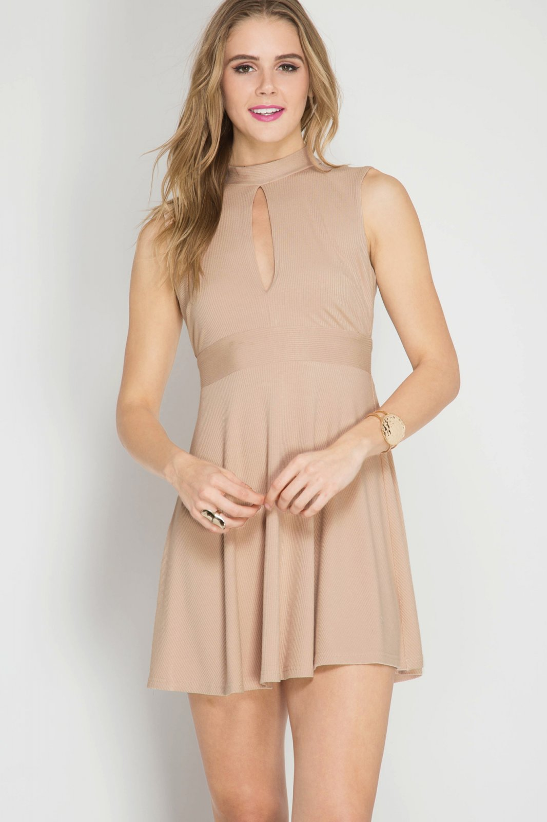 Dress - NATURAL Ribbed  * Jr / Ms / Adult PT