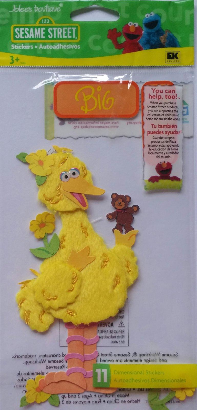 Big Bird - Preschool - SSJB07