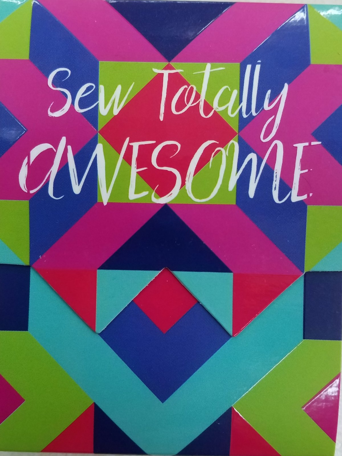 Pocket Notepad Sew Totally Awesome