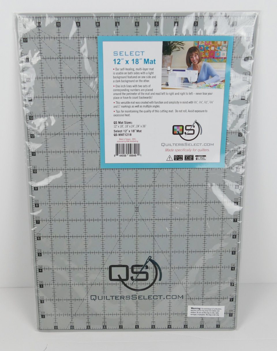 Quilters Select 12 x 18 Cutting Mat