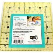 Quilters Select 4.5 x 4.5 Ruler