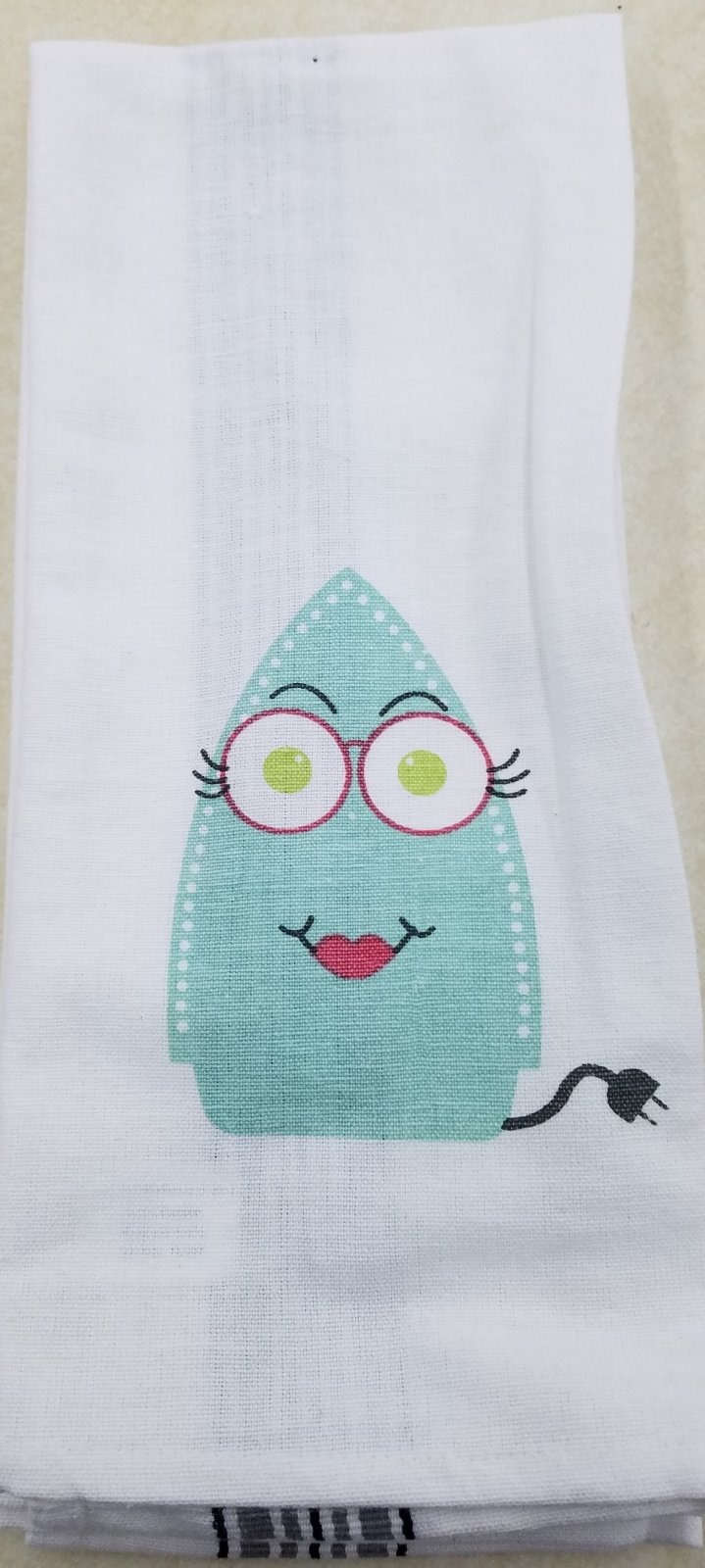 Sew Much Attitude Towels Iron