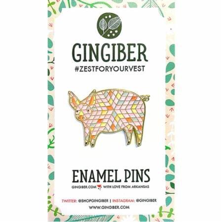 Enamel Pig Pin