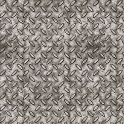 Full Steam Ahead Metal Texture Gray