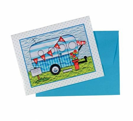 Amy Bradley Designs Campers Note Cards
