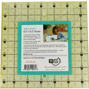 Quilters Select 6.5 x 6.5 Ruler