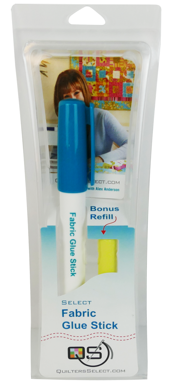 Quilters Select Fabric Glue Stick