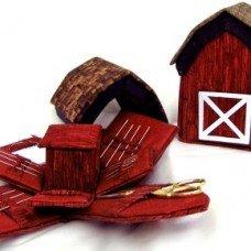Country Barn Needle Box