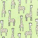 Gentle Giraffe-Sprout Flannel