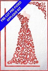 Dress Pre cut, Pre fused applique