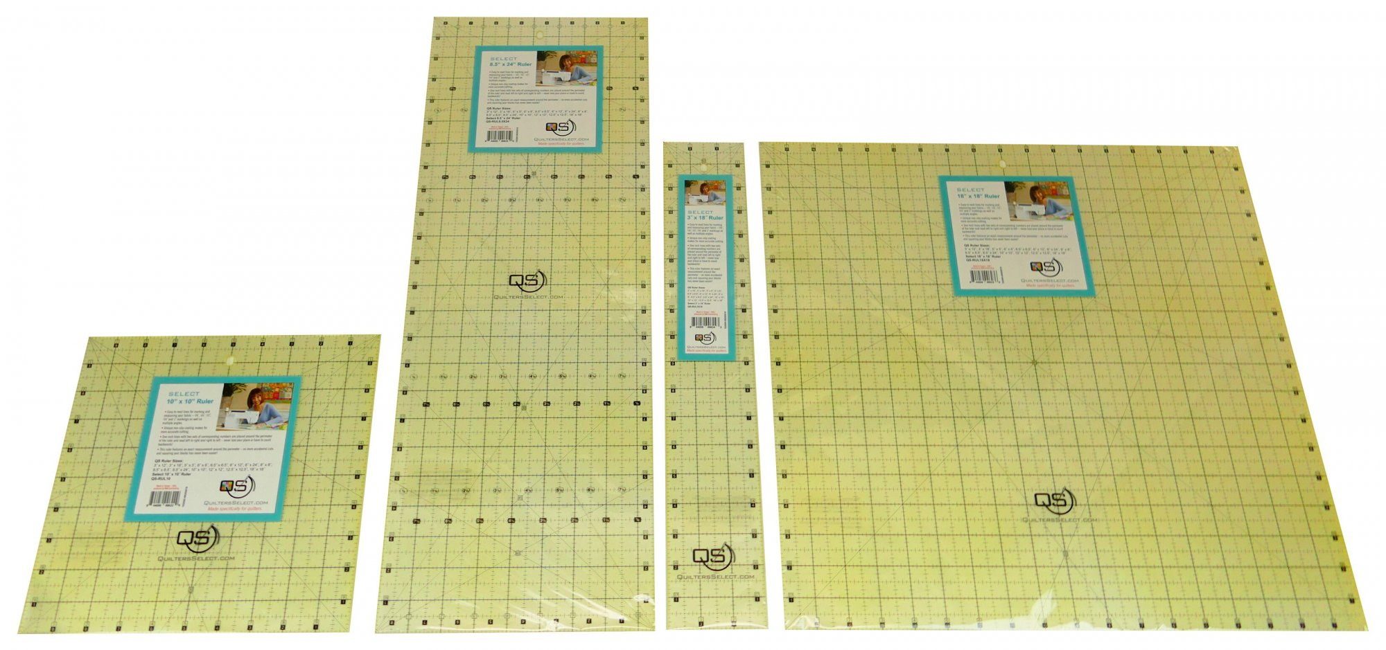 Quilters Select 6.5 x 24 Ruler