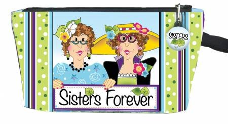 Sisters Forever Zipper Pouch Kit