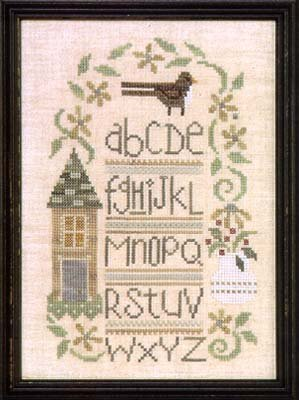 Brownbird Sampler Counted Cross Stitch Chart