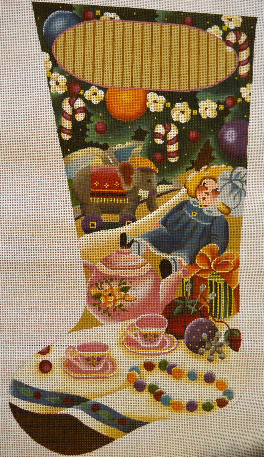 Dolls & Tea Stocking