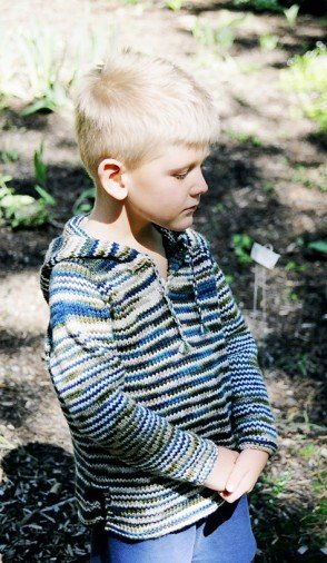 Knitting Pure & Simple Leaflet: Children's Tunic