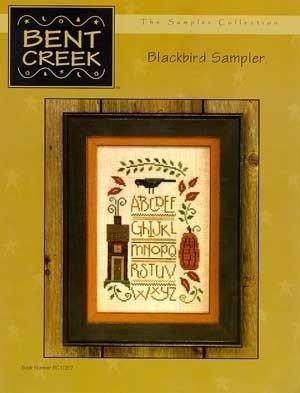 Blackbird Sampler Counted Cross Stitch Chart