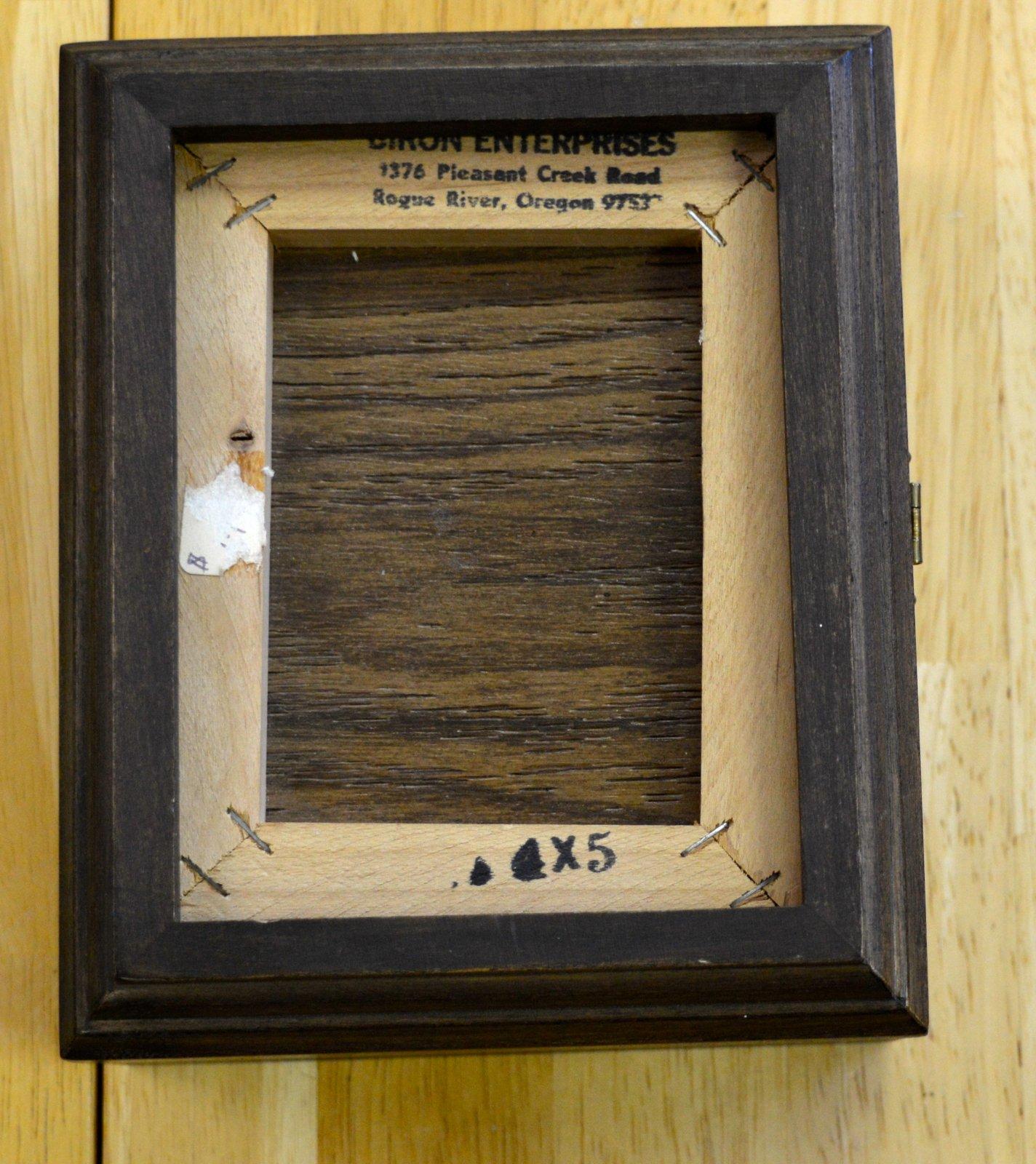 4 x 5 Wood box