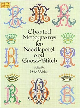 Charted Monograms for Needlepoint and Counted Cross Stitch