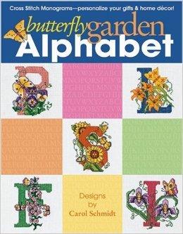 Butterfly Garden Alphabet Counted Cross Stitch