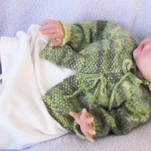 Knitting Pure & Simple Leaflet: Newborn Layette