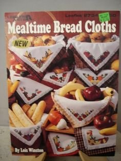 Mealtime Bread Cloths Counted Cross-stitch Chart