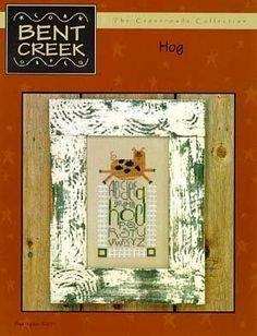 Hog Counted Cross Stitch Chart