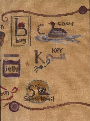 Snapperbets 2 C K S Counted Cross Stitch