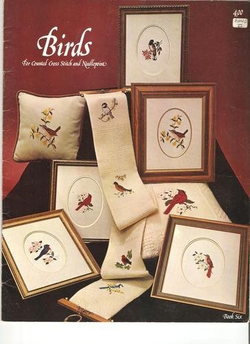 Birds for Counted Cross Stitch and Needlepoint