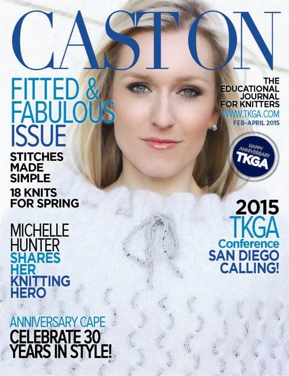 Cast On Knit Magazine Past Issue Feb/April 2015