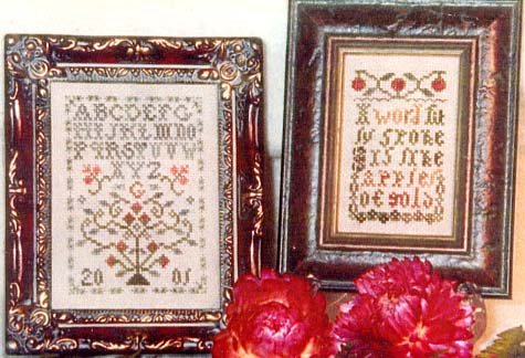 Fit Words Counted Cross Stitch Chart