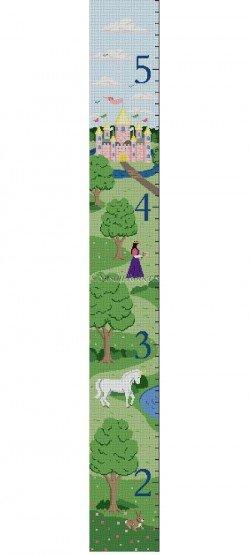 Growth Chart, Castle, Unicorn, Princess #13