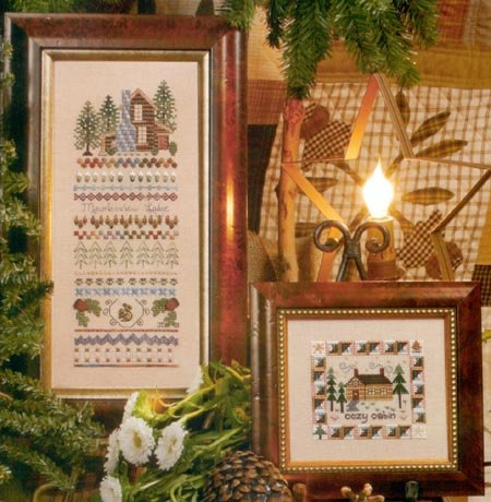 A Home in the Woods Counted Cross Stitch Chart
