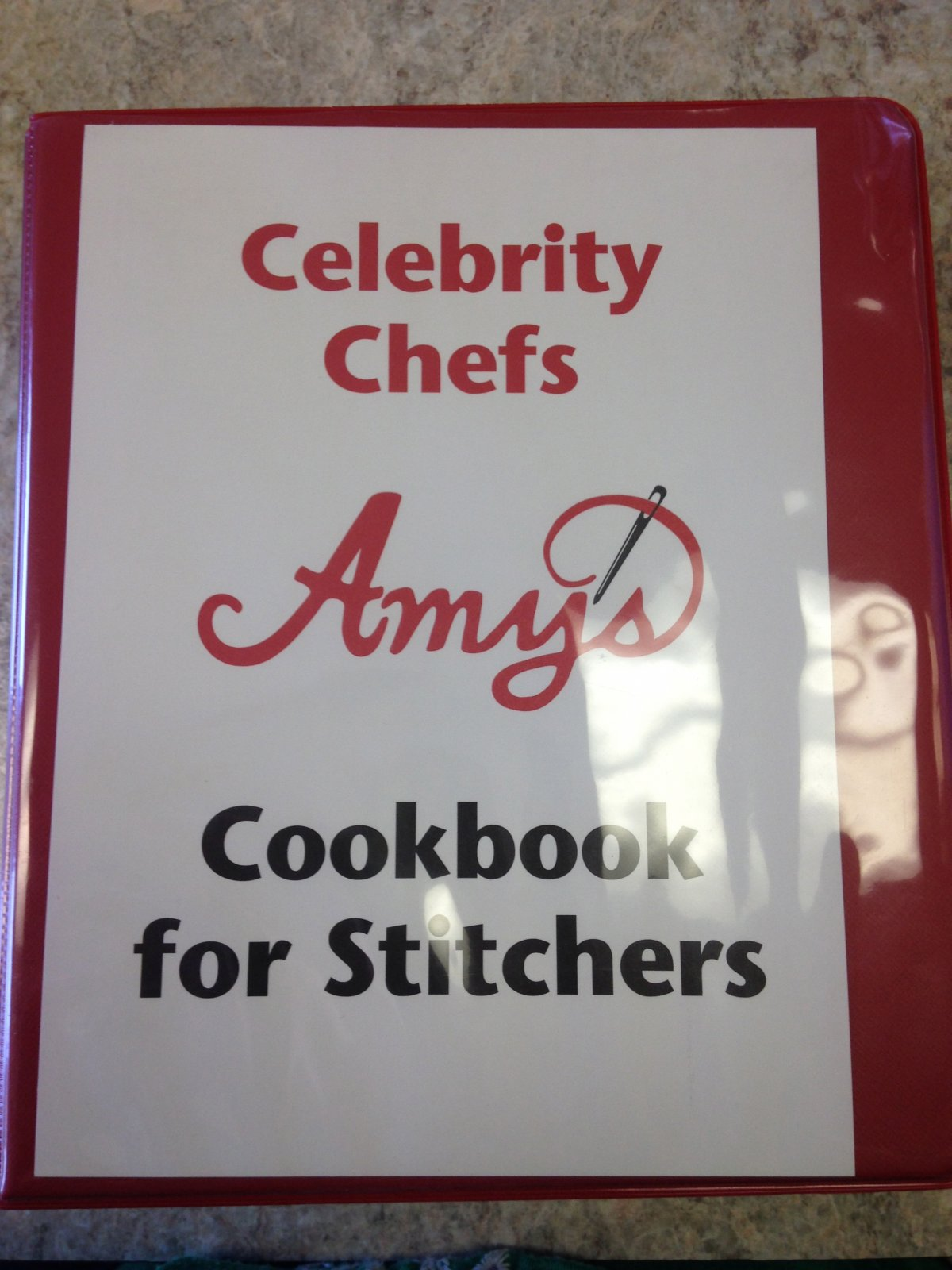 Celebrity Chefs Amy's Cook Book 1
