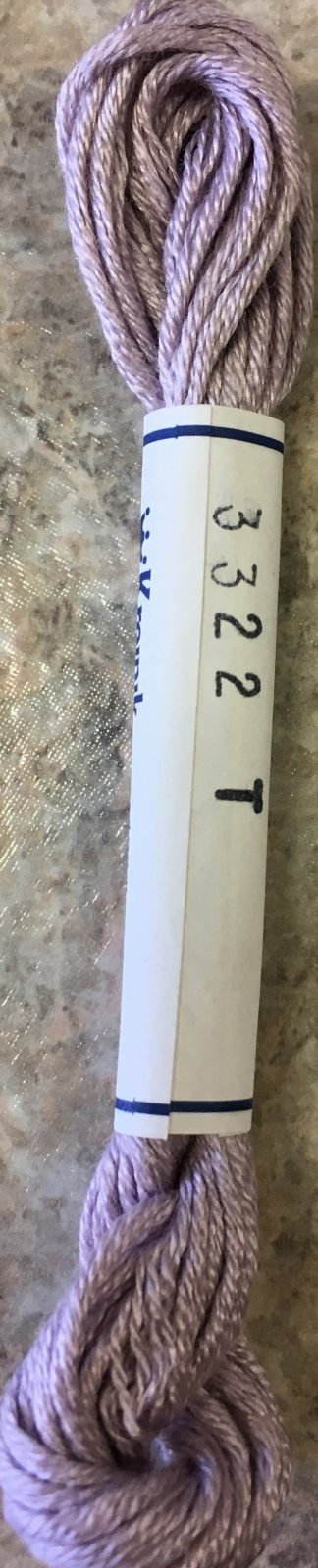 Soie d' Alger Silk Floss 3322 T Lavender