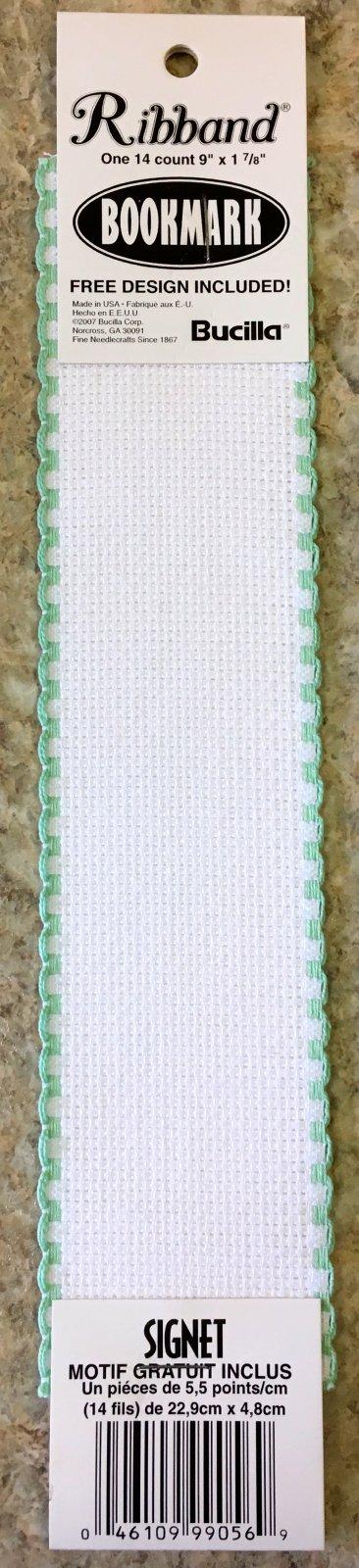 Blank Bookmark White/Light Green