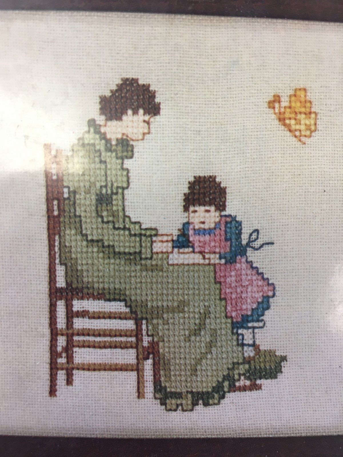 Learning at Mother's Knee Counted Cross-stitch Kit