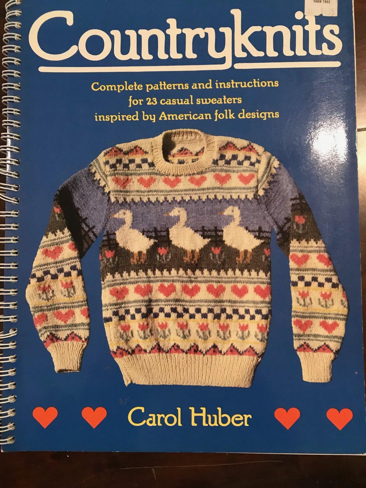 Country Knits, Carol Huber