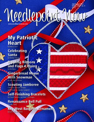 Needlepoint Now Magazine Back Issue Jul/Aug 2016