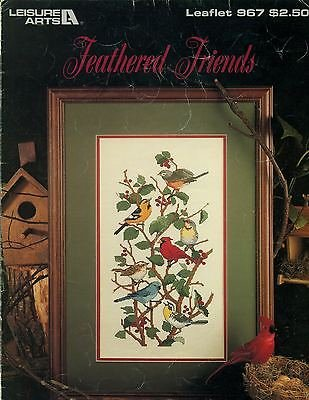 Feathered Friends Counted Cross Stitch Chart