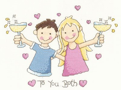 To You Both Counted Cross Stitch Chart