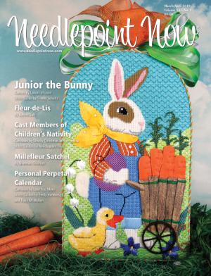 Needlepoint Now Magazine Back Issue Mar/Apr 2019